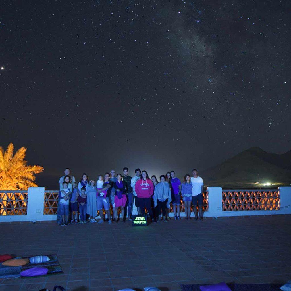 Observacion de estrellas con telescopio