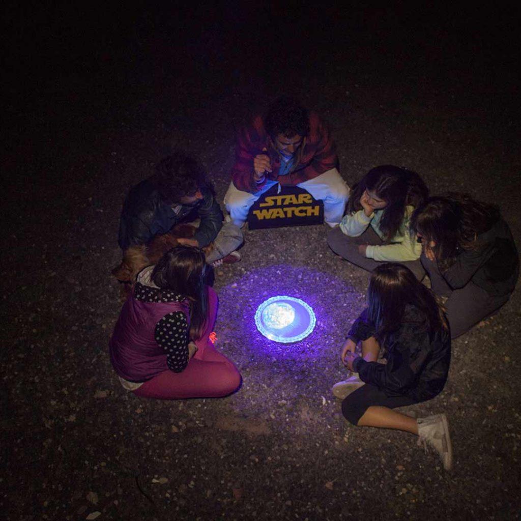 Explicacion planisferio a niños