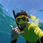 Guia de snorkel en cabo de gata