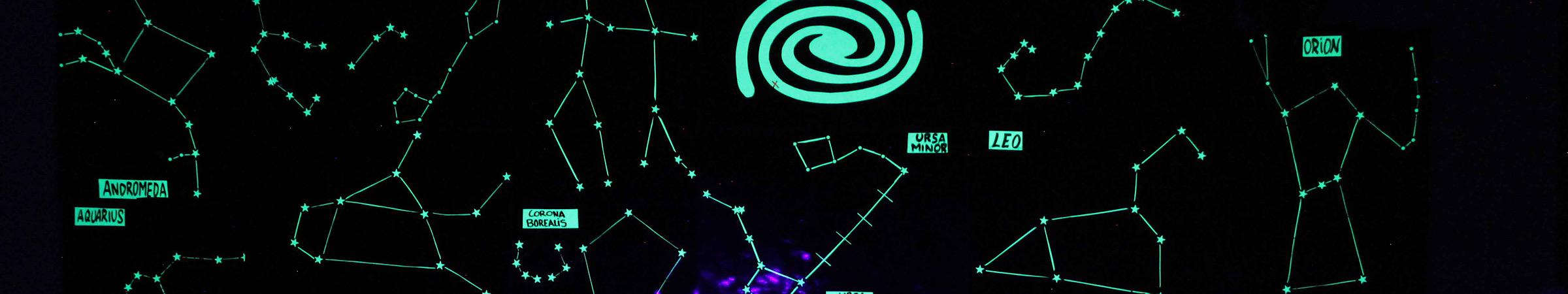 Constelaciones fotoluminiscentes